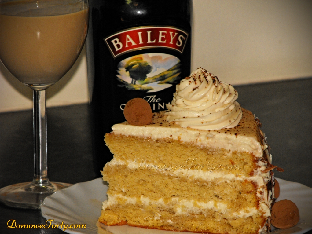 Tort Bailey's w przekroju