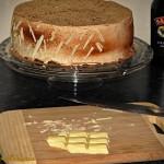 Tort Baileys - okladanie bokow