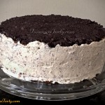 Tort makowy - boki