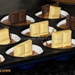 Ciazto babeczkowe - czekoladki
