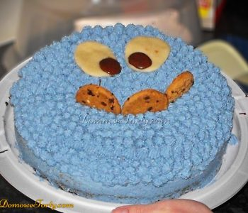 Śmietankowy tort – Ciasteczkowy Potwór
