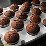 Babeczki czekoladowe z czekoladka