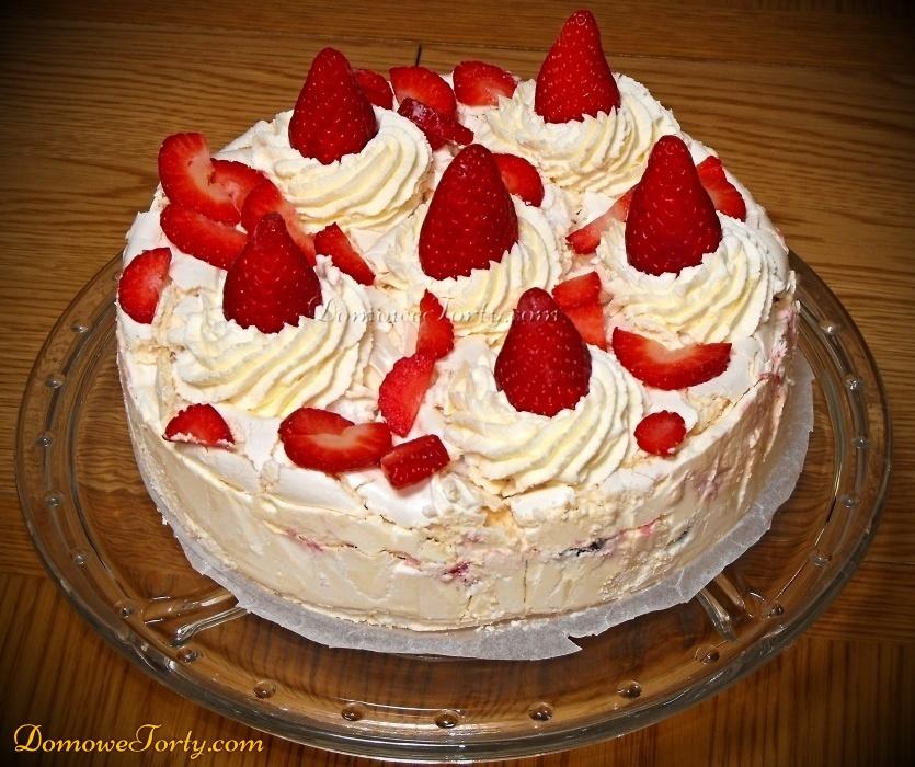 Tort Lodowy z bezami