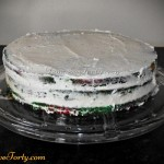 Tort Teczowy - przekladanie