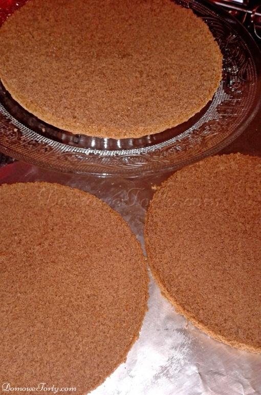 DomoweTorty - Biszkopt kakaowy