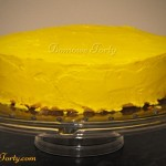 Tort cytrynowy - boki