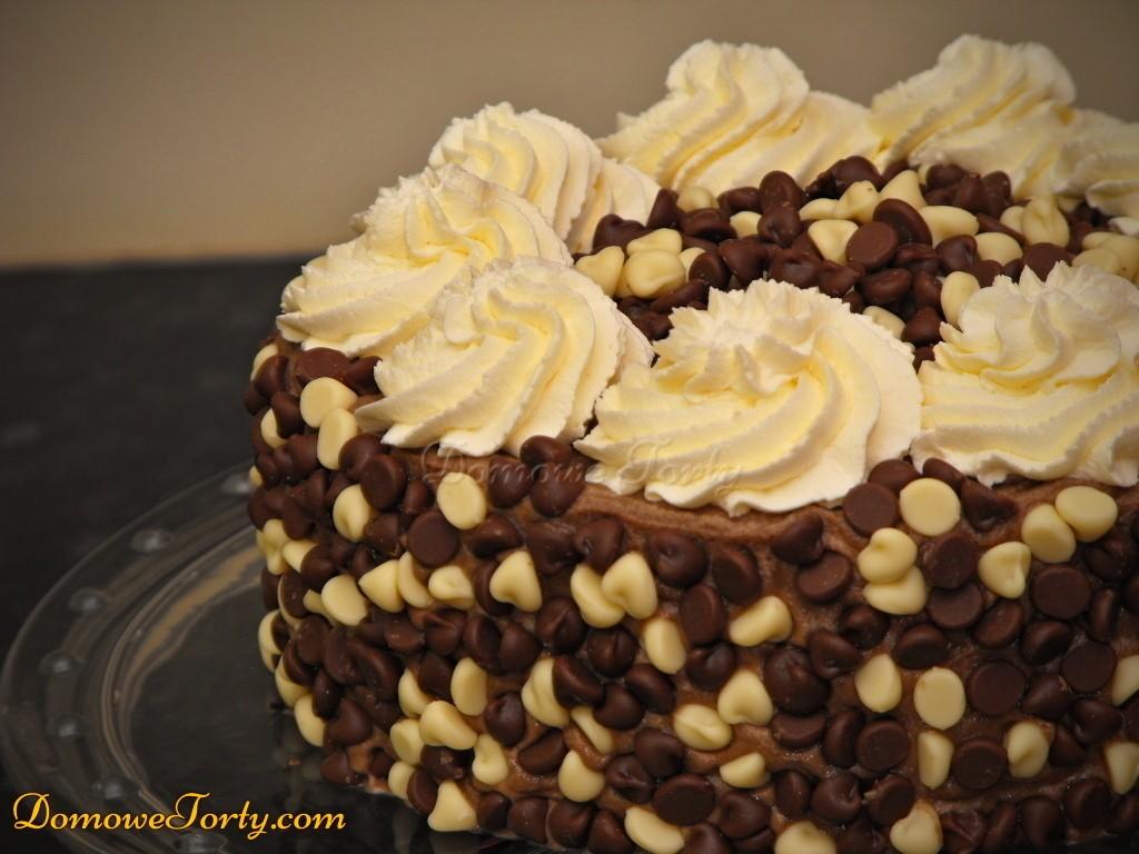 Tort mocno czekoladowy