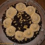 Tort wyjatkowo czekoladowy - gora