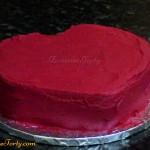 Tort serduszko - zdobienie