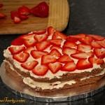 Tort serduszko-rozyczki - przekladanie