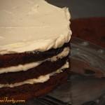 Tort zebra - przekladanie