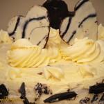 Tort zebra - zdobienie