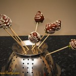 Truskawki w czekoladzie - durszlak