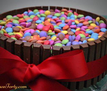 Tort czekoladowy prezent