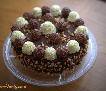 Tort ala Ferrero Rocher