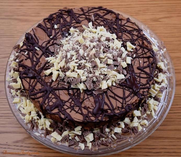 Torcik czekoladowy - wykonany przez DomoweTorty.com