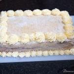 Tort chalwowy,dekorowanie - wykonany przez DomoweTorty.com