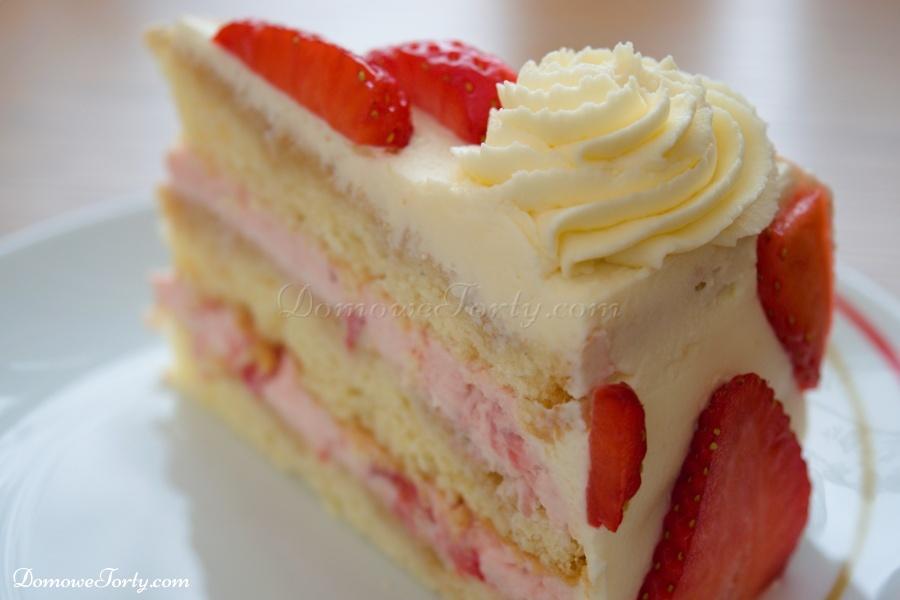 DomoweTorty - Tort truskawkowy