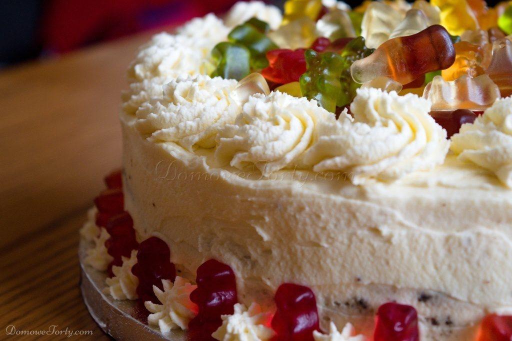 Tort dla dzieci, misie zelki