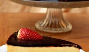 Czekoladowe Brownie z masą serową