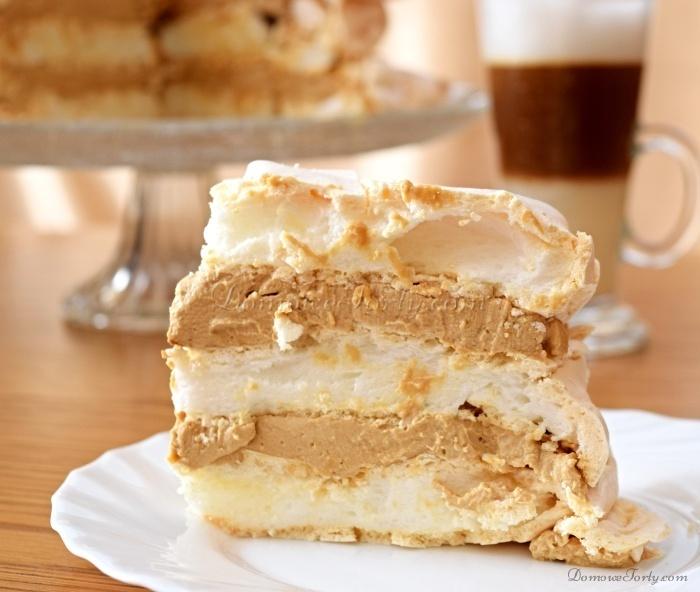 bezowy;DomoweTorty;kawowy;tort