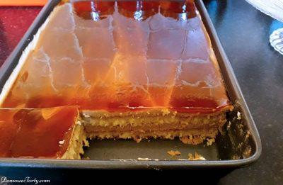DomoweTorty - Kawowe ciasto z bitą śmietaną