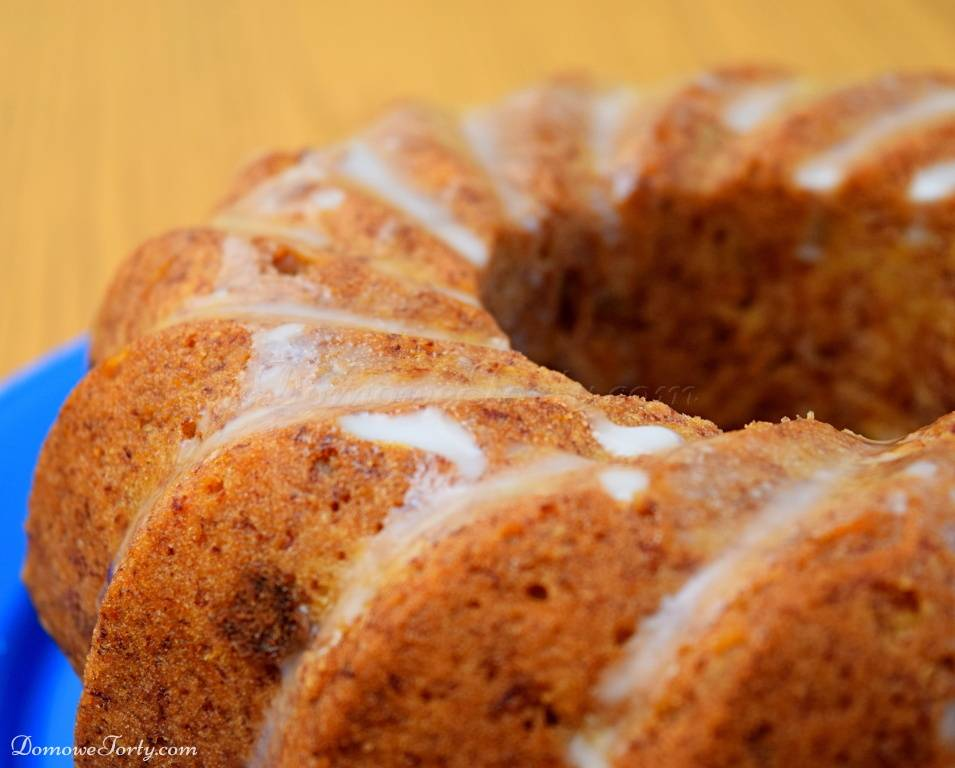 DomoweTorty - Bezglutenowe, wegańskie ciasto Marchewkowe