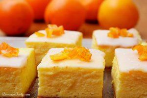 Sernik z pomarańczą