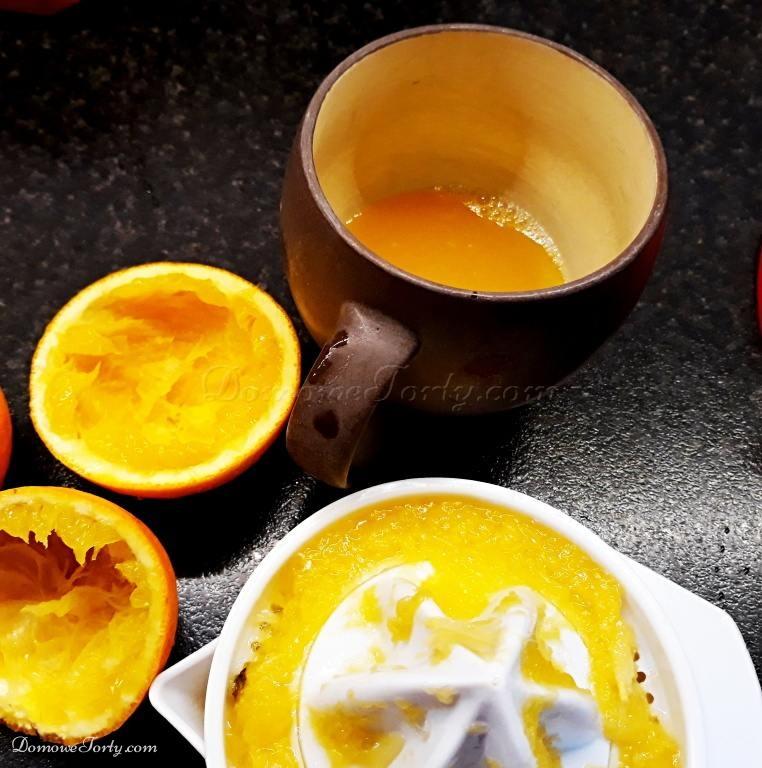 DomoweTorty - Sernik z pomarańczą
