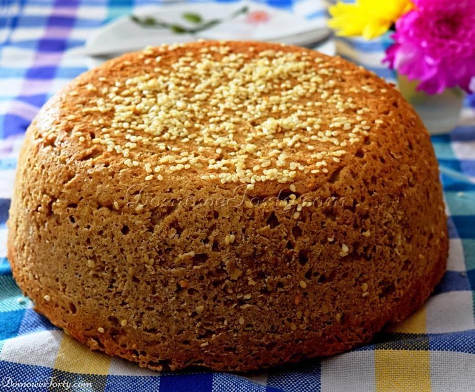 Chleb bezglutenowy, gryczano-ryżowy na zakwasie
